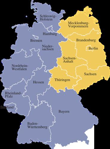 ドイツの州紹介