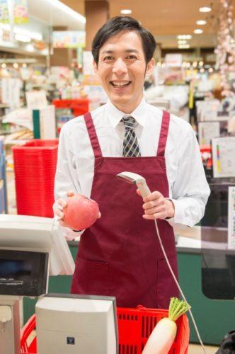 日本のレジ係