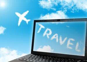 オンライン旅行のイメージ